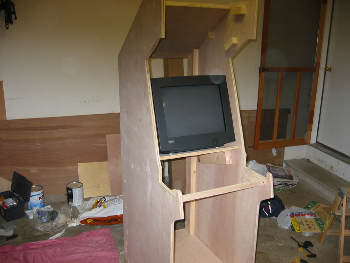 Arcadecab Monitor Shelf