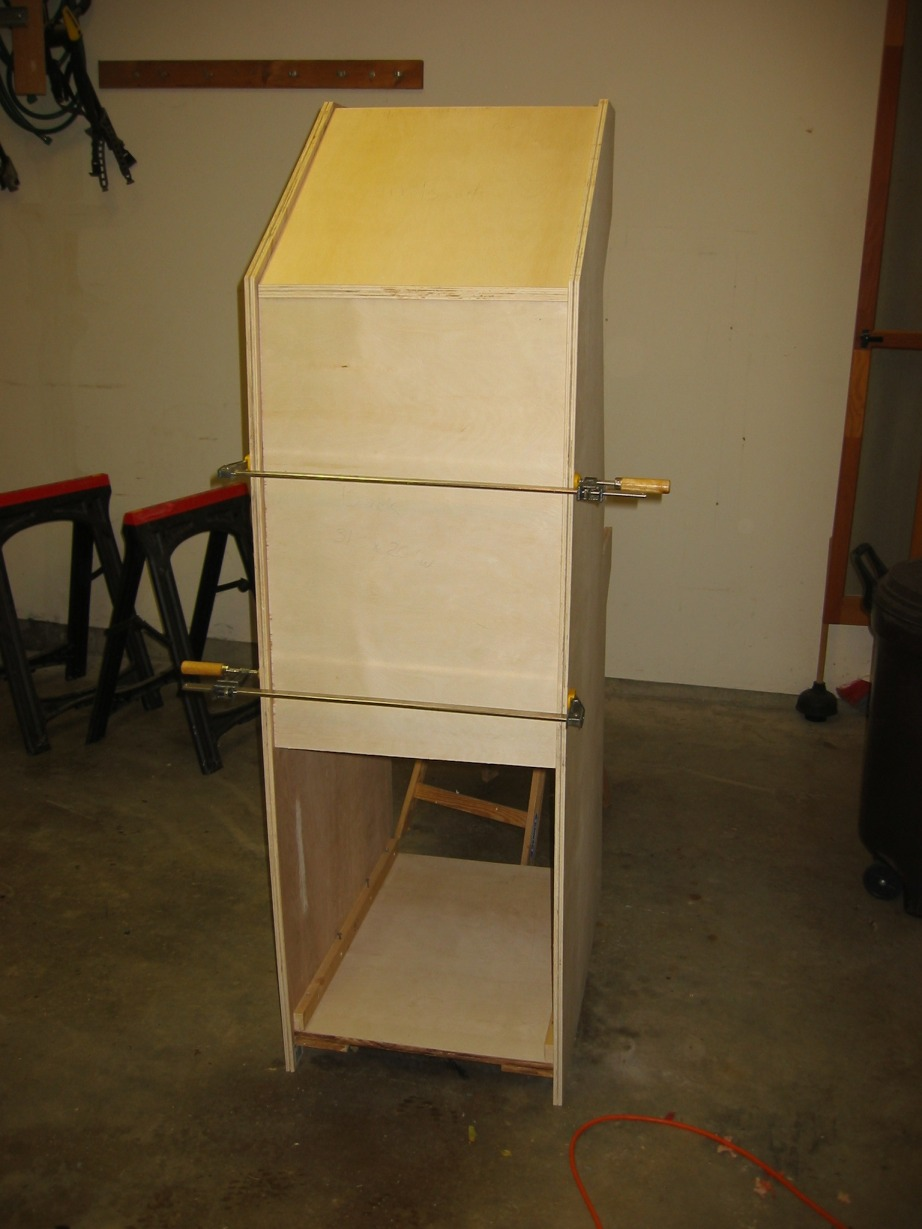 Arcadecab Mame Cabinet Plans 2 Back Board