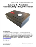 ArcadeCab's Ultra-Trackball Plans- Right click and Save As...