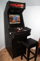 Doug M's cabinet with TankStick and GamEX front-end