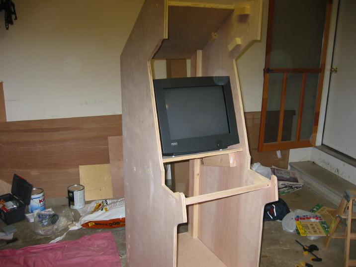 Arcadecab Monitor Shelf
