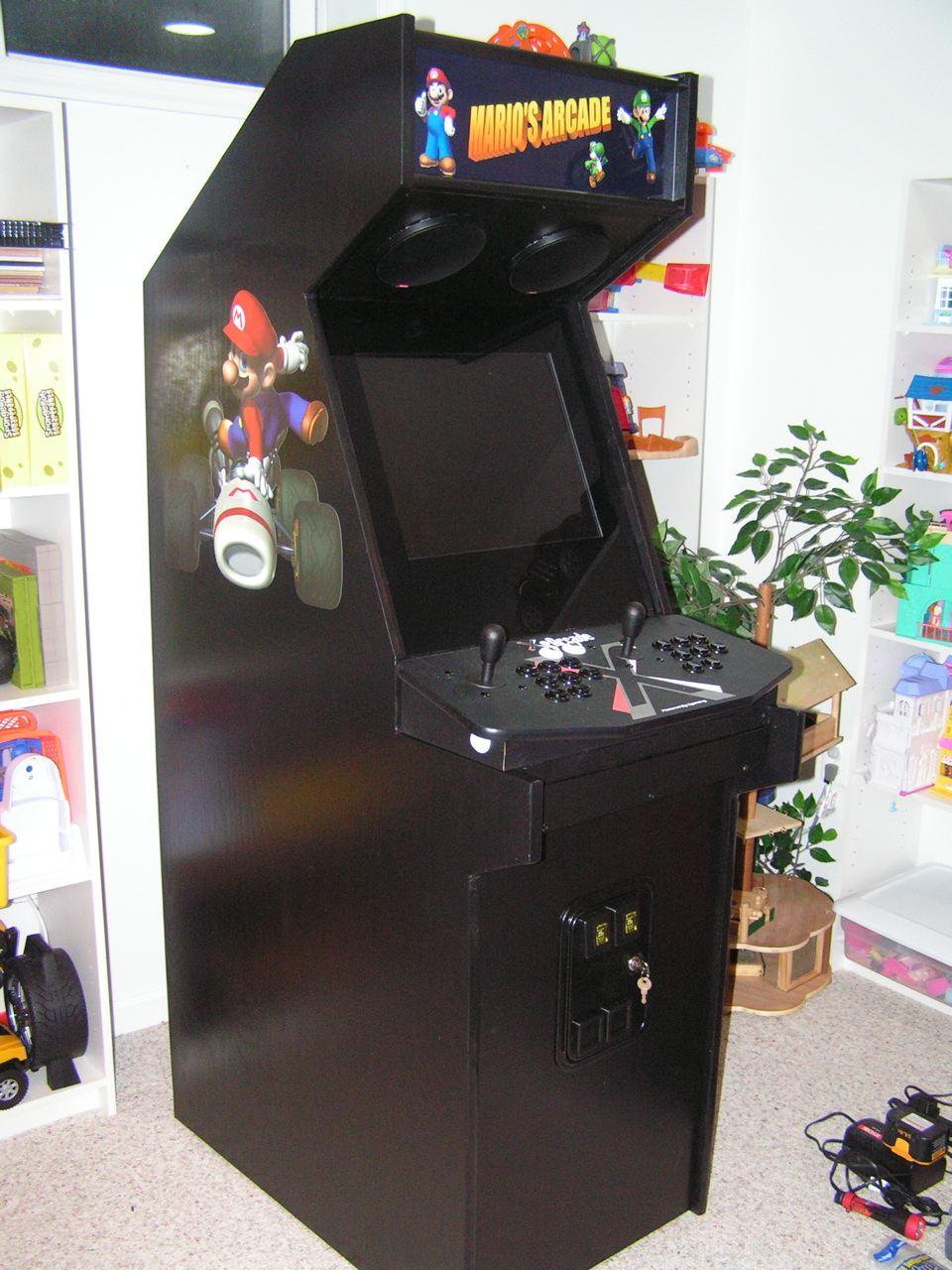 X Arcade Tankstick Cabinet Plans Memsaheb Net